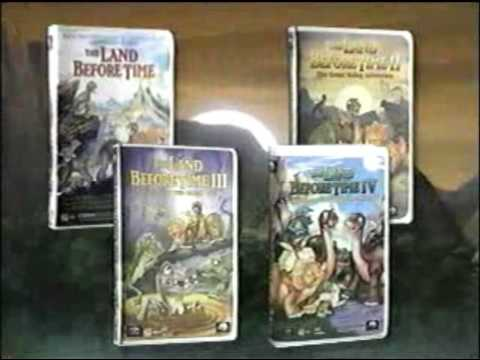 the land before time vhs collection youtube
