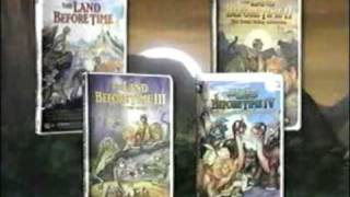The Land Before Time Vhs Collection