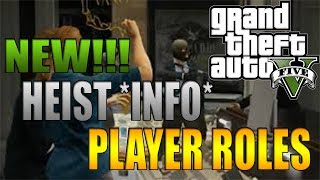 "GTA 5 Online New ""GTA 5 DLC"" Info! New Heist Player"