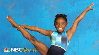 Simone Biles' earliest days in gymnastics - rare footage   NBC Sports