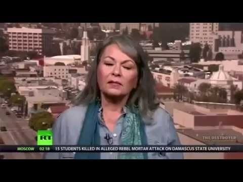 Roseanne Barr - spills the truth about Hollywood Mind-Control - MK ULTRA