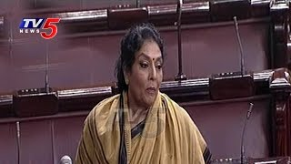 AP Special Status :Renuka Chowdary's Powerful Speech In Rajya Sabha
