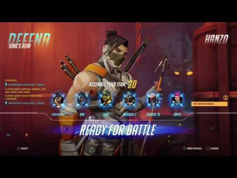 Overwatch hanzo gameplay fun