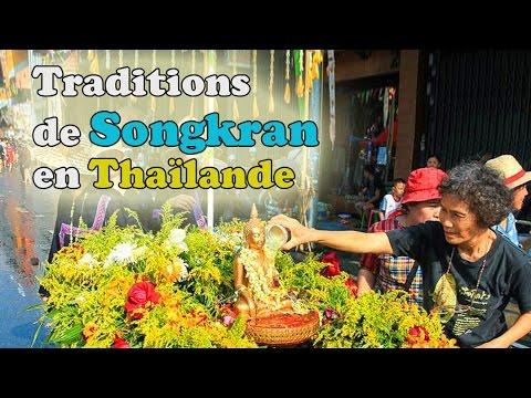rites et traditions de songkran