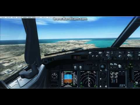 FSX | Spicejet 737-800 Landing at Goa,India (VOGO)