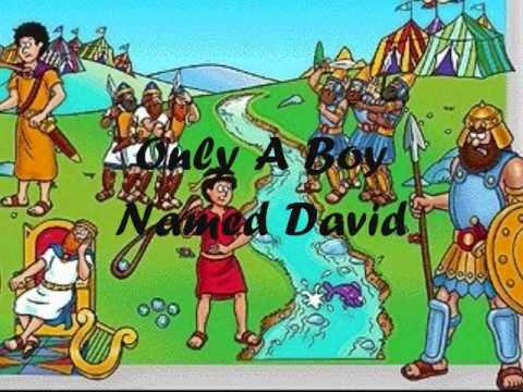 Only a Boy Named David - dltk-bible.com