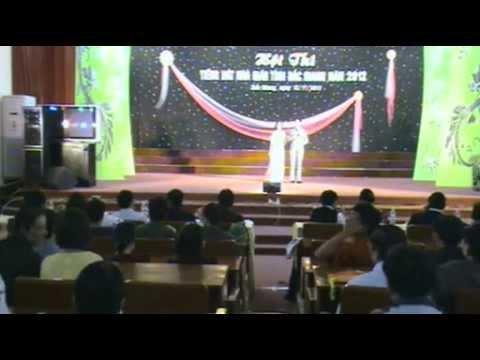 Hội thi tiếng hát nhà giáo tỉnh Bắc Giang năm 2012 (P1-Sáng)
