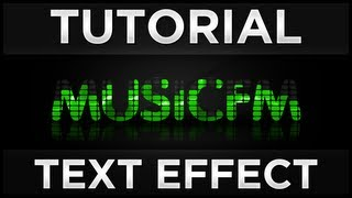 Tutoriale - Photoshop | Music EQ Text Effect (Tutorial in Romana)