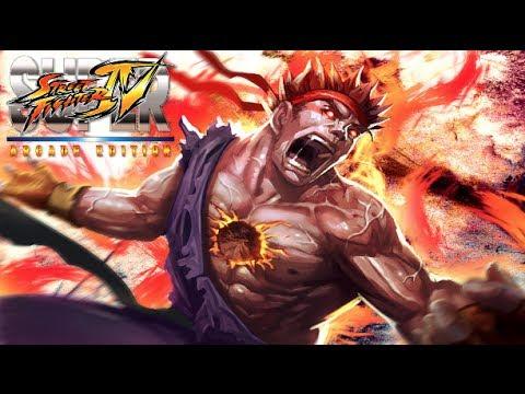 Super Street Fighter IV Arcade Edition EVIL RYU Gameplay!