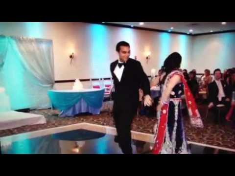 Jigesha and Chintan reception dance