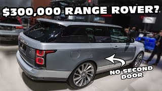 Introducing The Most Expensive SUV Available
