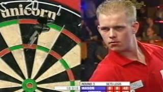2007 US OPEN Darts 2/4 Gerwen vs. Mason FULL