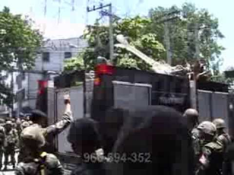 State of Emergency / Protest / Thailand / Stock video