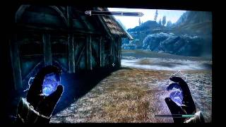 Skyrim Glitch-The Secret Chest Under The Sky Forge (Xbox