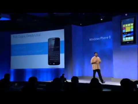 Microsoft Windows Phone 8 Summit Complete Video - Part 8 Nokia Features934