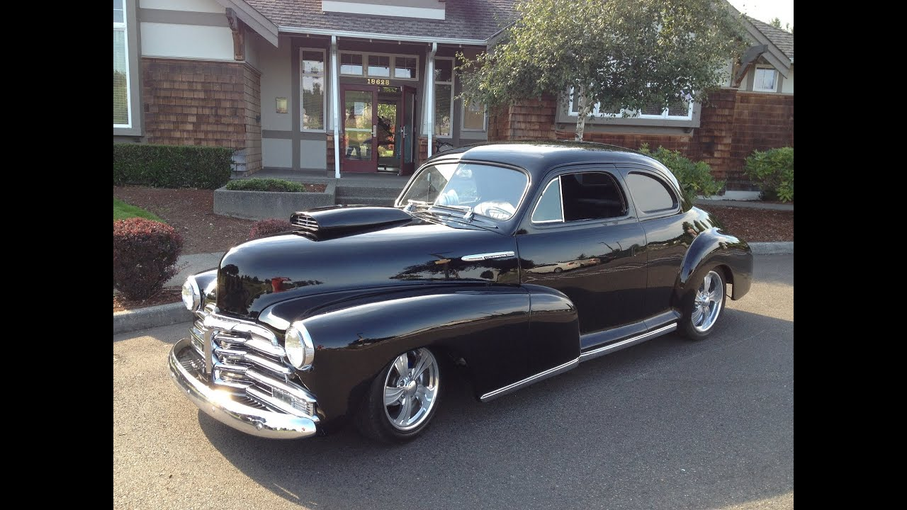 1948 chevy stylemaster youtube for 1948 chevy 4 door