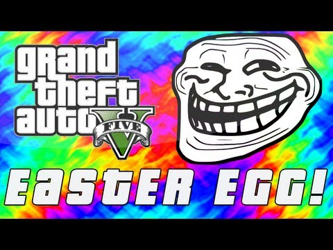 "Grand Theft Auto 5 | ""Turn Back"" Troll Easter Egg! (GTA V)"