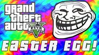 "Grand Theft Auto 5 ""Turn Back"" Troll Easter Egg! (GTA V"