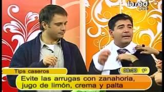 Zanahoria, Limón, Crema Y Palta Para Las Arrugas