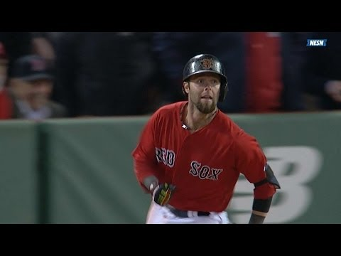Umpires confirm Pedroia's slam in the 6th
