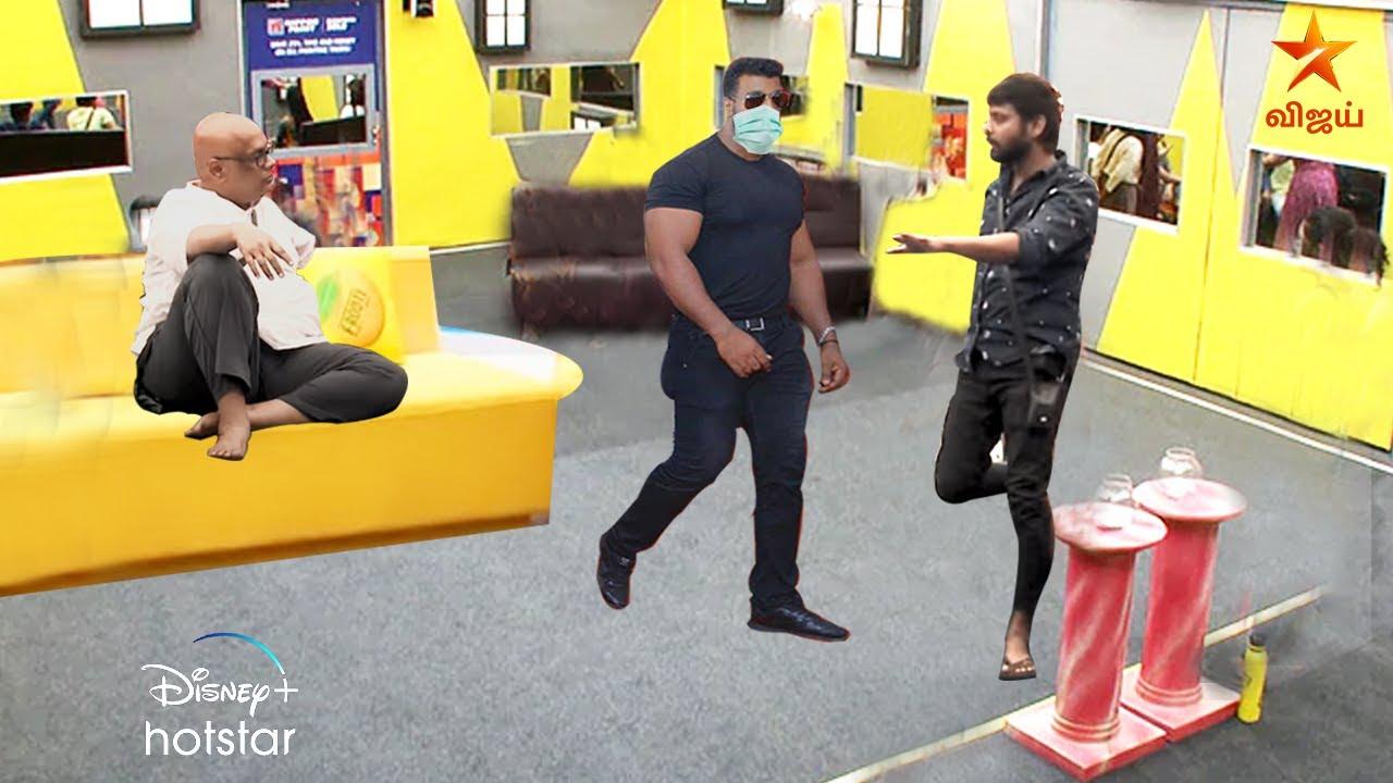 Bigg Boss 4 | Promo 4 | 19th October | Day 15 | | Rio | Suresh Chakaravarthi | Fight