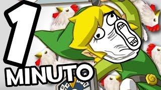 The Legend of Zelda en 1 minuto