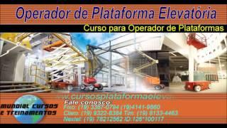 Curso para Operadores de Plataforma Elevat�ria   - youtube