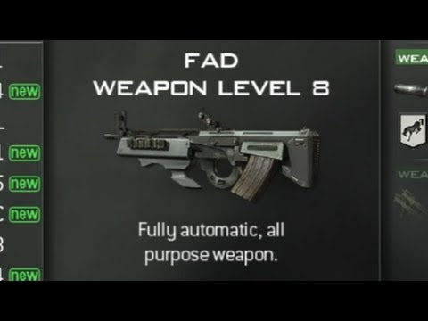 Call of Duty: Modern Warfare 3 - Assault Rifles Unlock Levels (COD MW3)