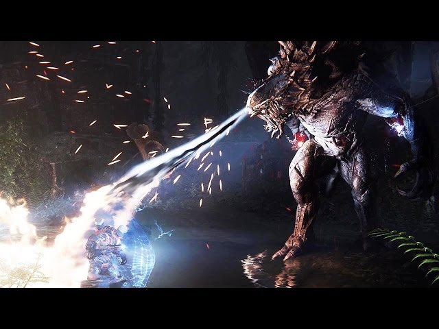 PS4 - EVOLVE Multiplayer Gameplay Video