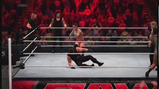 WWE 2K14 John Cena, CM Punk & Big E Langston Vs The SHIELD
