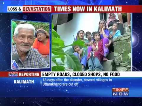 Kalimath reduced to rubble
