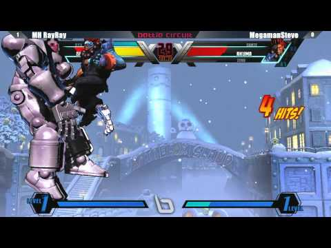 UMVC3 MH RayRay vs MegamanSteve - Next Level Battle Circuit #1 Tournament