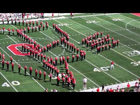 OSUMB 1990's Cartoon Music Halftime Show By OSU Spring Athletic Band at Spring Game 2016
