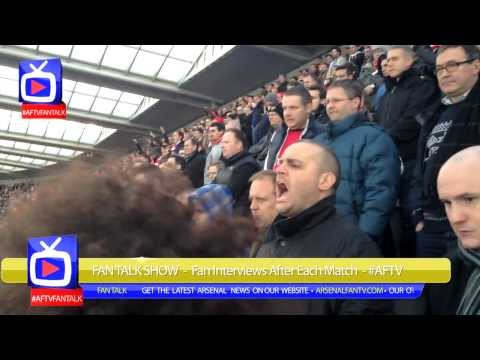 Arsenal 1 Newcastle United 0 - Fans Go Crazy After Giroud's Goal [Terrace Cam]