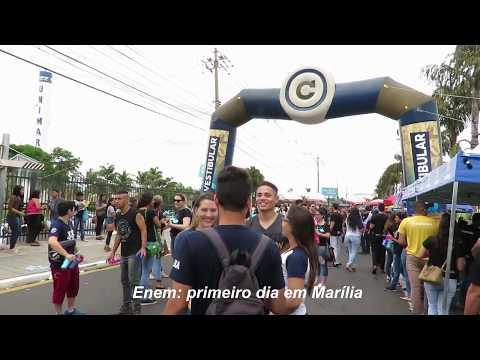 Primeiro dia do Enem movimenta candidatos em Marília