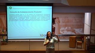ICMS e ISS no transporte de cargas e na logística – Aspectos fiscais – Curso realizado pela instrutora Ivonizia Fonseca Cunha na sede do CRC/PR – Parte 2