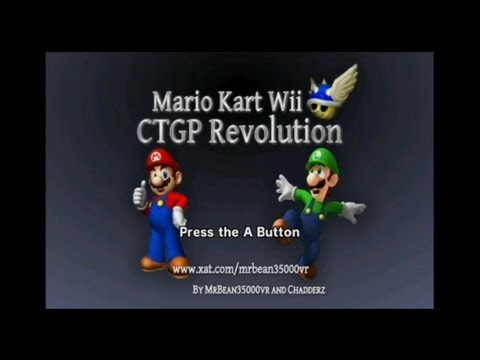 Mario Kart Wii CTGP Revolution - Mario Kart Wii CTGP Revolution Hack - All 128 New Custom Courses in Order - User video