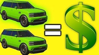 GTA 5 Online How To Double Money From Car Sales, GTA