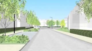Barton Park flythrough - western