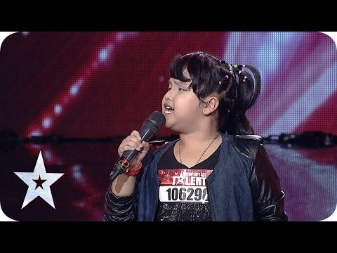 Amazing 8-year-old Nisma Putri sings 'Listen' by Beyonce' - Indonesia's Got Talent 2014