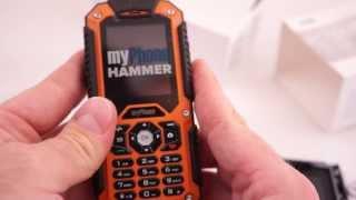 MyPhone Hammer: Odpakowanie I Pierwsze Wrażenia