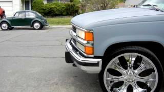 """26"""" Rims On Chevy Tahoe 97"""