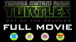 TMNT: Out Of The Shadows FULL MOVIE [HD] XBLA PSN PC