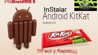 Instalar Android 4.4 KIt Kat En Un L5