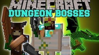Minecraft: DUNGEON BOSSES (INTENSE NEW BOSS MOBS!) Better