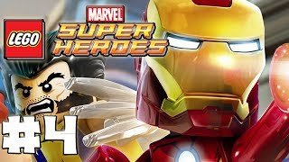 LEGO Marvel Superheroes Part 4 Exploratory Laboratory