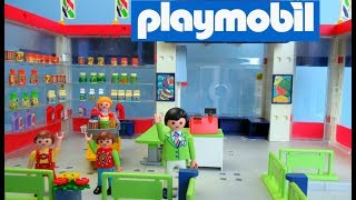 Playmobil Supermarket 3200 Toy Unboxing | Playmobil Nederlands