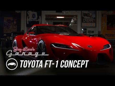 Toyota FT-1 Concept - Jay Leno's Garage