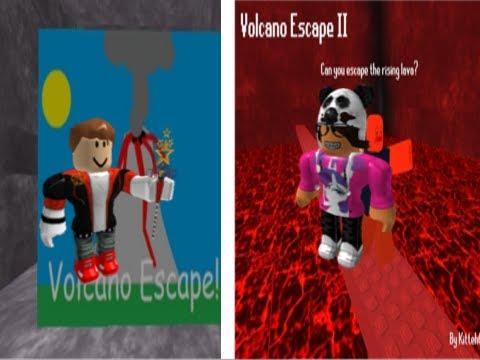 Volcano Escape 1 and 2 w/Pichuten7