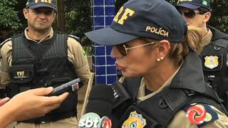 Diretora da PRF visita JF - Alterosa em Alerta